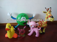 Promotion Advertising pvc inflatable animals for decoration