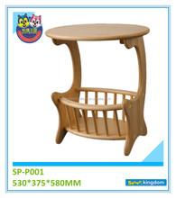 Wooden Magazine Racks Kids Toy Furniture