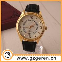 New arrival 2015 watches men cheap, quartz stainless steel back, man wrist watch