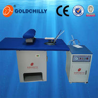 Top sale roning table, laundry steam press iron price steam ironer for clothes prices