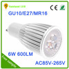 6W 9W 12W GU10 led spotlight cob spot light led dimmable GU10 LED bulb
