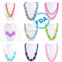 Alibaba china supplier Baby Teething Necklace Wholesale
