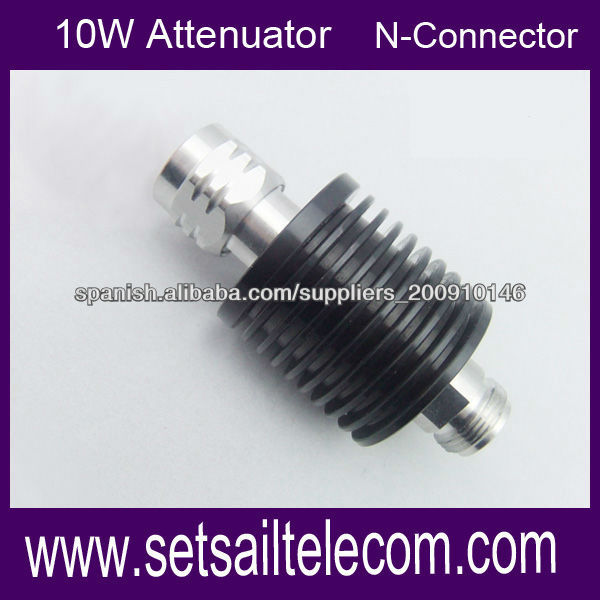 0W DC-3GHz Coaxial direccional fijo 10 db Atenuadores RF
