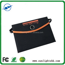 High Efficient 7W Foldable Solar Panel Battery Charger 5.5V