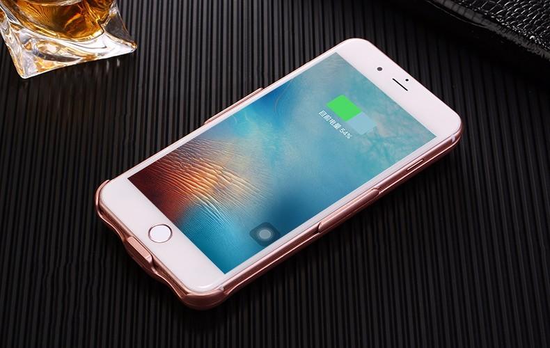 10000 mah portable chargeur mobile banque de puissance de t l phone cas pour iphone 7 plus. Black Bedroom Furniture Sets. Home Design Ideas