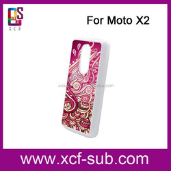 For Sublimation Printing Blank Bulk Phone Case for Moto X2