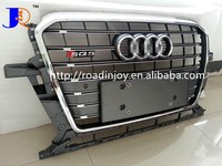 NEW SQ5 FRONT MESH GRILLE FOR AUDI Q5 SQ5 AUTO FRONT GRILLE