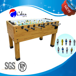 KBL-08A29 5ft Soccer Table with ABS plastic player,Manual slide scorer foosball table