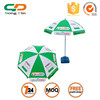 2015 Guangzhou 180cm outdoor beach umbrella, umbrella base, beach umbrella for outdoor promotion