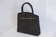 Elegant floral women's bag/fancy brocade tote