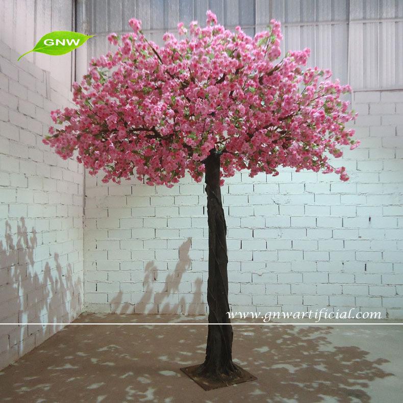 GNW Artificial Sakura Flower Trees Sale For Wedding Decoration