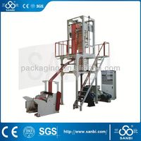 Double colors strip Film blowing Machine(SJ-45*2/50*2/55*2 Model)