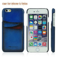 New products 2015 innovative products real leather back covers for iphone 6 plus case