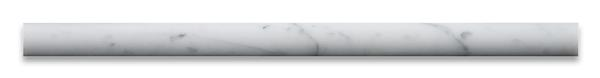 Premium (SELECT) Quality Carrara White marble pencil molding for wholesale