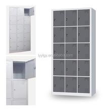 industrial staff room wardrobe metal storage cabinets/Euloong Steel Furniture