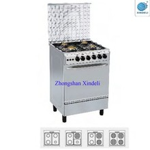 2015 Hot sale popular Freestanding Cooking Range factory with 4 burners