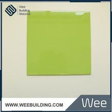 200x200mm Bright Green Color Ceramic Tiles For Decorative
