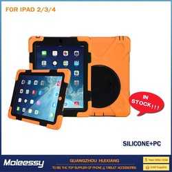 Simple style heavy duty case for ipad 4