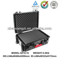 waterproof dustproof safety equipment case for carrying tools and camera lens