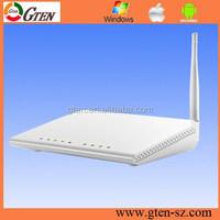 10 yrs big factory 2.4GHz rtl8676 150mbps iptv vlan 802.11N adsl2+ modem wireless router