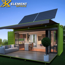 Living 20ft prefabricated luxury container house prices/ australia expandable container house for sale