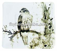 "7.5"" Square bird designed food grade material paper dessert plates"