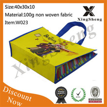 recyclable shopping bags non woven lamination bag full printing non woven bag