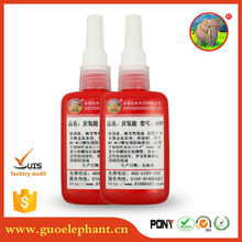 High quality Thread sealant Single-component glue threadlocker 609 Silicone Rubber Adhesive Sealant