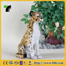 new products life size leopard animal statue leopard panther