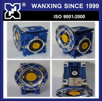 20:1 RATIO RIGHT ANGLE SPEED REDUCER GEARBOX WORM GEAR LIKE MOTOVARIO