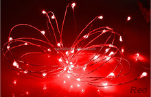 Battery operated copper wire string lights, 2012 led decoration copper wire string lights