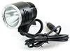 Super light cree xml T6 rechargeable led driving bike frame light