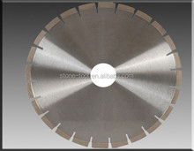 "Diamond Saw Blades with "">>"" Shape Taper Segments for Slab Edge Cutting of Granite/Sandstone/quartz"