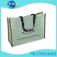 100gsm eco non-woven laminated die cut bag
