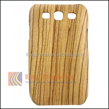 High Quality Eco-friendly 100% Real Zebra Wood Phone Case for Samsung Galaxy S3