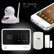 Hot New products for 2015 ! !! Wifi security system GSM alarm G90B ,add new function of Leaving message