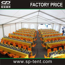 Buffet Party Marquee Tents with Bar banquet Tables and chairs for sale
