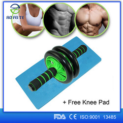 Top Selling Products 2015 Gym Abs Trimmer Abs Toning Wheel ,Abs Adjustable Double Roller Wheel , Wheel Ab workout