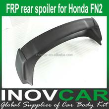 FN2 fiber glass car spoiler, FN2 frp rear roof spoiler for HONDA CIVIC FN2 rear spoiler