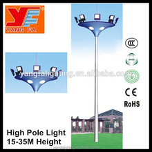 hot dip galvanized outdoor high mast light with pole priceoutdoor waterproof lighting fixtures for airport basketball court