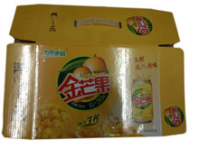 paper corrugated box for drink packing made in Guangxi China