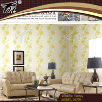 PVC/Vinyl/No-woven reflective wallpaper