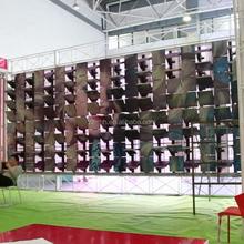 new idea outdoor advertising matrix rotating panel