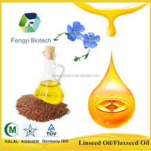 high quality edible linseed oil for regulation of blood system