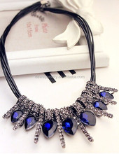 Korea style diamond necklace jewelry collar