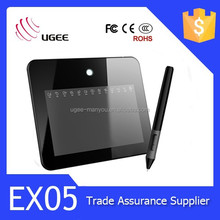 2015 new drawing tablet UGEE EX05 graphic tablet electronic writing