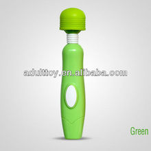 Sex Products Green rechargeable 300mA inner battery 4 speeds sex vibrator magic massager professional pussy vibrating massager