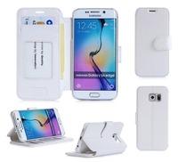 2015 Newest Design Smart Pretty Phone Flip Case For Samsung S6 Edge