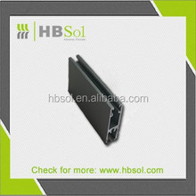 matte anodize aluminum profile/ window frame aluminum