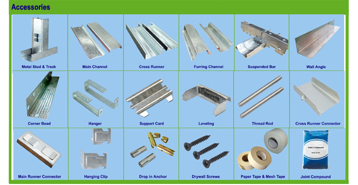 Rustproof Steel Stud Sizes